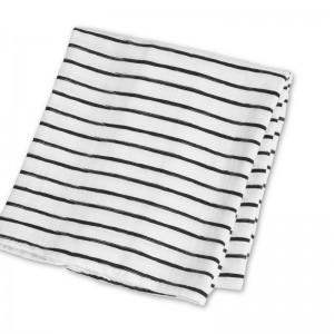Чёрные грязные полоски L J108 | 100% Бамбуковое волокно | 120 см x 120 см1 499 р.
