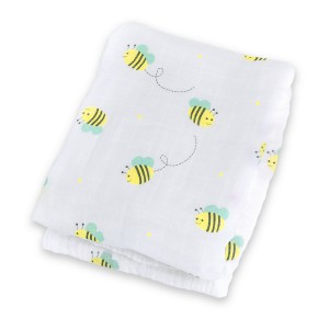 Bumbling Bee Muslin Cotton