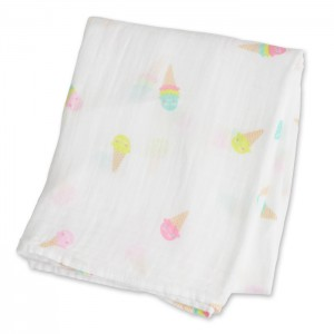Ice Cream Social Muslin Cotton