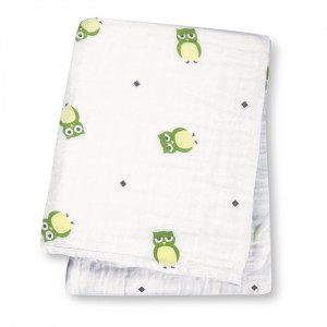 Owl Always Love You Muslin Cotton